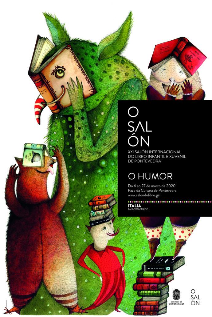 Cartel gañador XXI Edición do Salón – SALON DO LIBRO